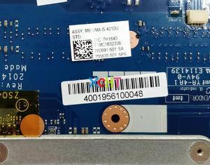 Image 4 - Hp 14 R シリーズ 240 246 G3 755835 501 UMA i5 4210U ZSO40 LA A993P ノートパソコンのマザーボードマザーボードテスト