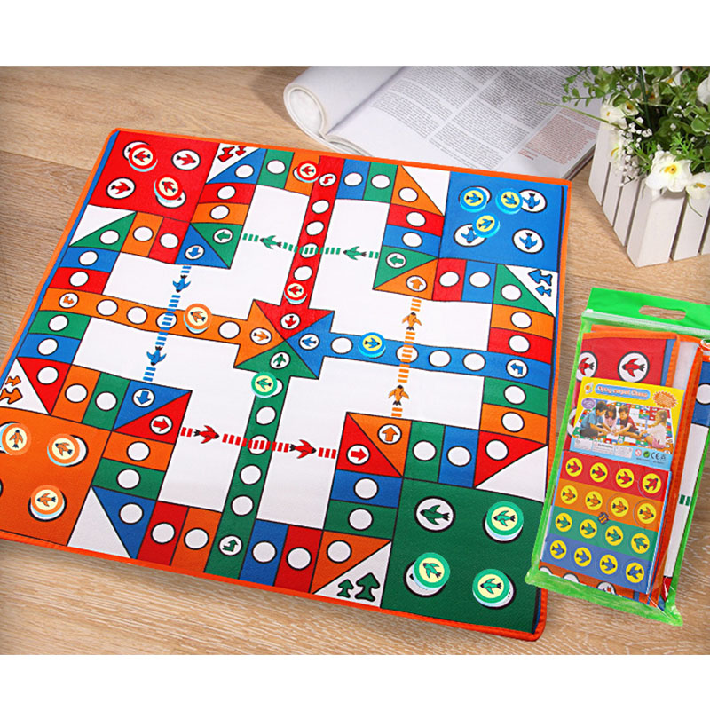 Baby Crawling Play Mat Flying Chess Home Floor Carpet Game Rug Living Room Decorative Outdoor Picnic Children Crawl Rug