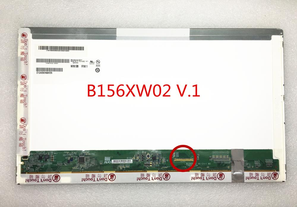Free Shipping B156XW02 V.1 B156XW02 V1 V0 N156B6-L03 L04 LTN156AT03 LP156WH2-TLC1 Laptop lcd screen 1366*768 40pin a christmas carol and other christmas writings