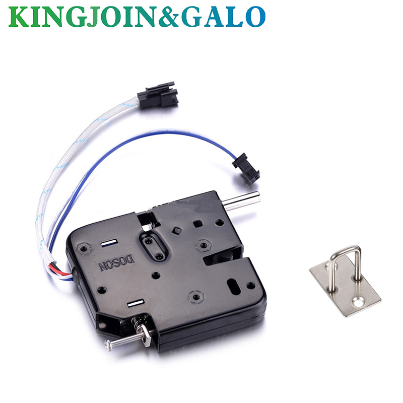 10pcs DC 12V 2A Solenoid Electromagnetic Electric Control Cabinet Drawer Lockers Lock Pudsh-push Design, Automatic Open the Door dc 12v open frame type electronic door lock 12v 2a for cabinet locks solenoid locks drawer