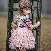 Autumn Winter Girls Skirks Clothing Elastic Waist Solid Color Baby Kids Girls Princess Mini Tutu Skirts