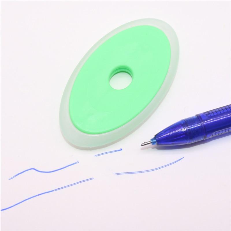 5-10 Pcs Mix Send Elliptical Plastic Eraser Neutral Erasable Pen Special Eraser  6