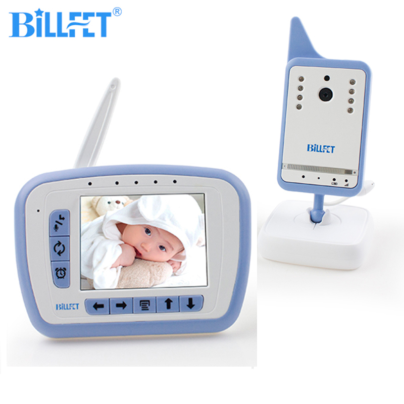 bilder für 2,4 GHZ Wireless Farbe Video Baby Monitor mit Kamera Radio Kindermädchen VOX Baby Telefon Monitor Video Nannies Intercom Sicherheit Kamera