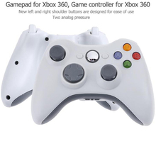 VODOOL Bluetooth Game Pads Control for Microsoft Xbox 360/Slim or PC Windows Gamepads Wireless/USB Wired Game Pads Controller