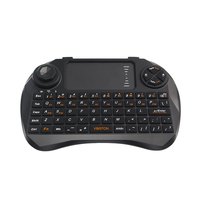 2.4G Kablosuz Klavye Touchpad Fare Mini Oyun Klavyeler için Turuncu Pi PC Mini PC Android TV Kutusu Ahududu Pi 2/3