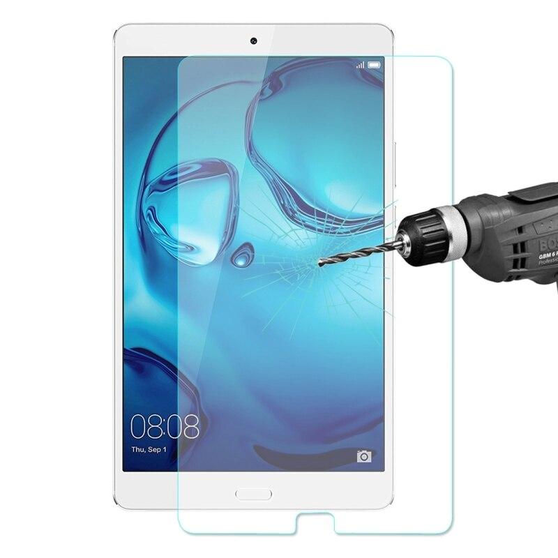 Для Huawei MediaPad M3 8.4 дюймов 0.33 мм 9 H твердость поверхности 2.5D Взрывозащищенный закаленное Стекло Плёнки Экран протектор