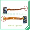 P5we0 lf-6901p uniflex cabo ls-6904p para acer aspire 5750 p5we0 nv57 portal placa usb com cabo amarelo