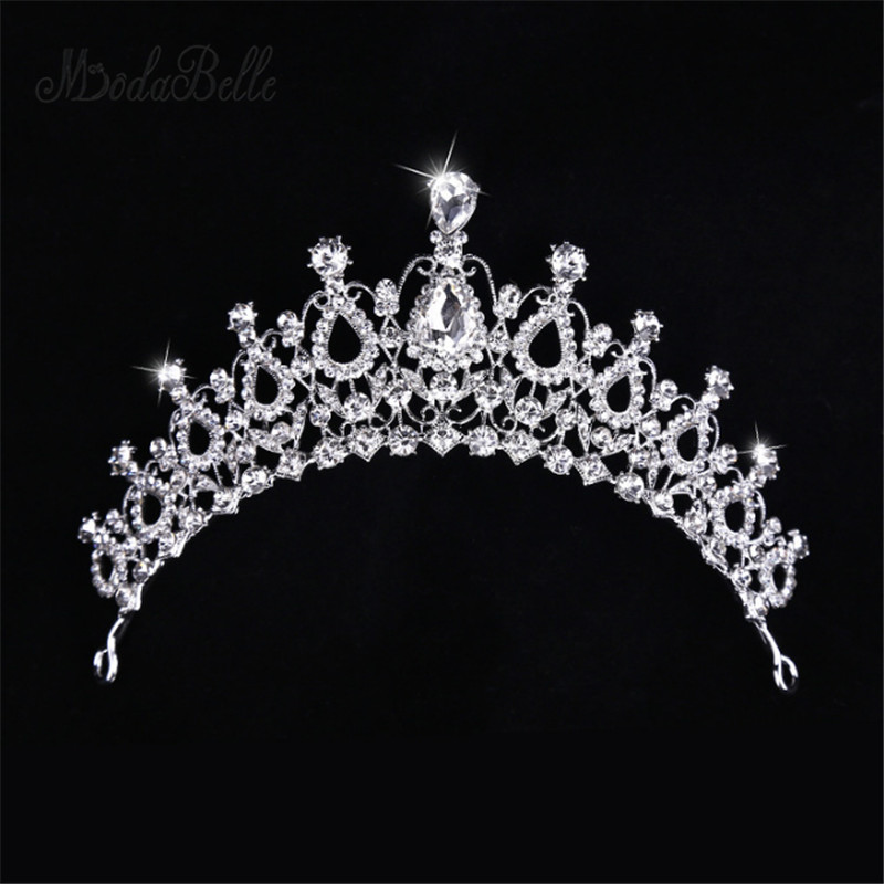 Modabelle Hot Sale Wedding Crowns Bridal Crystal Wedding Decoration 2018 Wedding Accessories