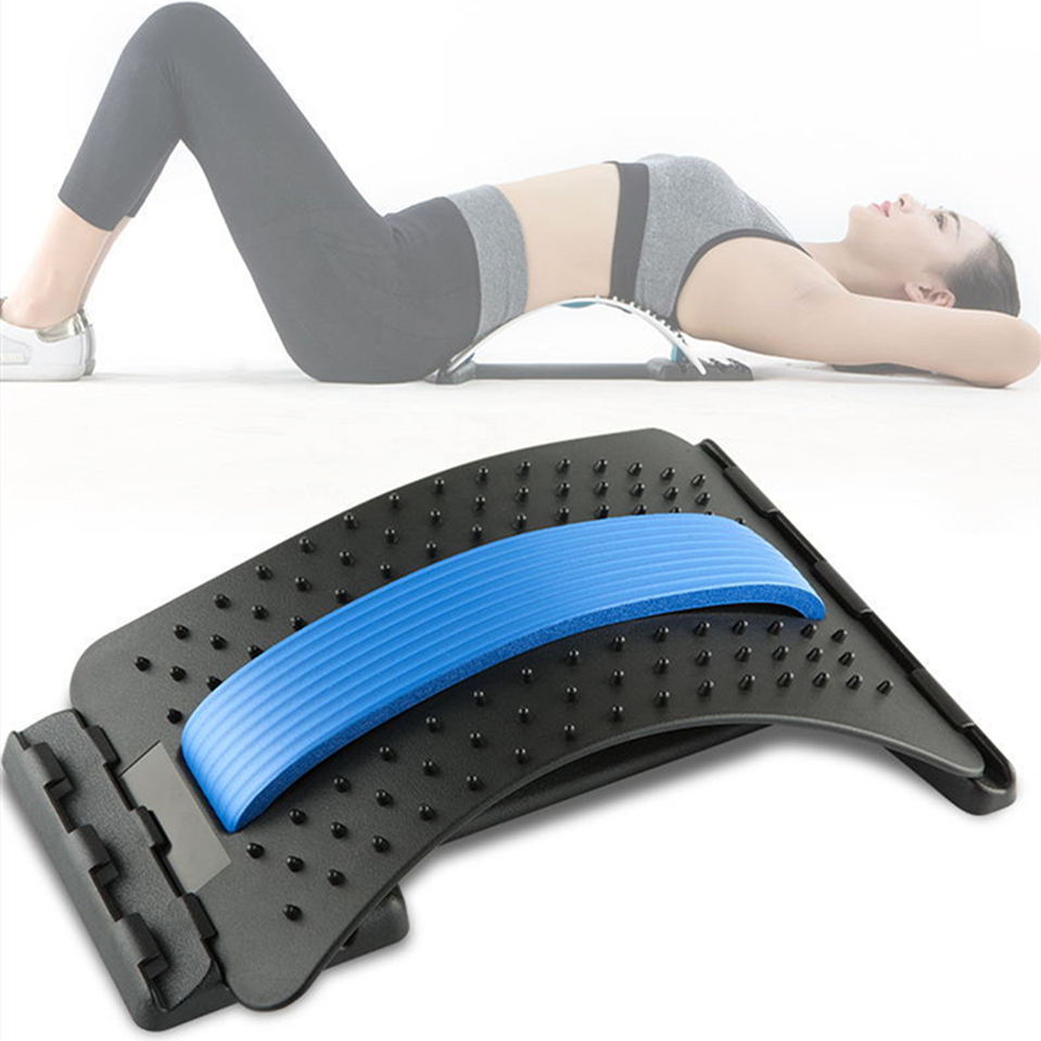 3Levels Acupuncture Set Up Benches Abdominal Mat Core Trainer Posture Corrector Relax Lumbar Support Back Massage Pain Relief
