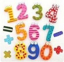 Children's puzzle digital stickers cartoon digital symbols magnetic stickers toys