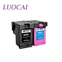 LuoCai Compatible ink cartridges For HP 803 XL Deskjet 1112 2132 1111 2131 3632 3830 4652 printer For HP803 XL 803XL cartrid