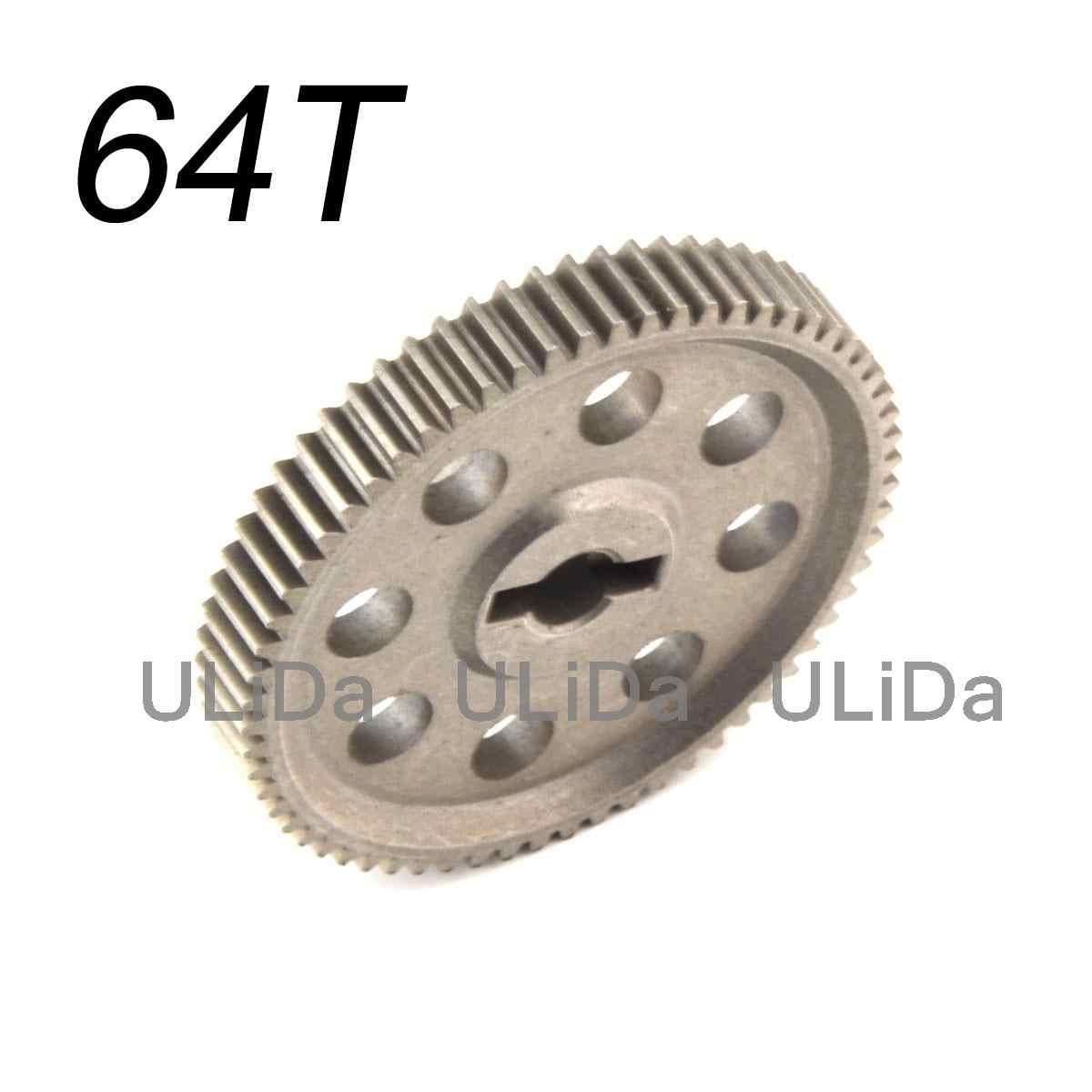 11184 Металл дифференциальная основная передача 64 T 11119 11181 11176 11189 Шестерня двигателя 17 T 21 T 26 T 29 T для 1/10 4WD RC HSP модель автомобиля