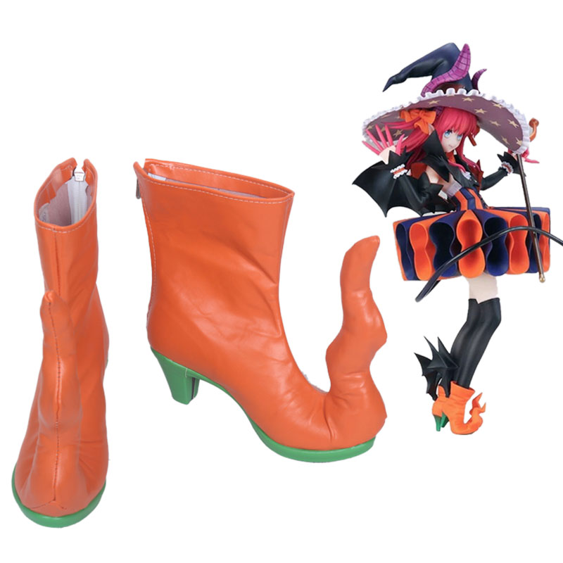 Game Fate Grand Order Elizabeth Bathory Cosplay Party Shoes Fate/EXTRA CCC Cosplay Fancy Boots Custom Made-in Shoes from Novelty & Special Use    1