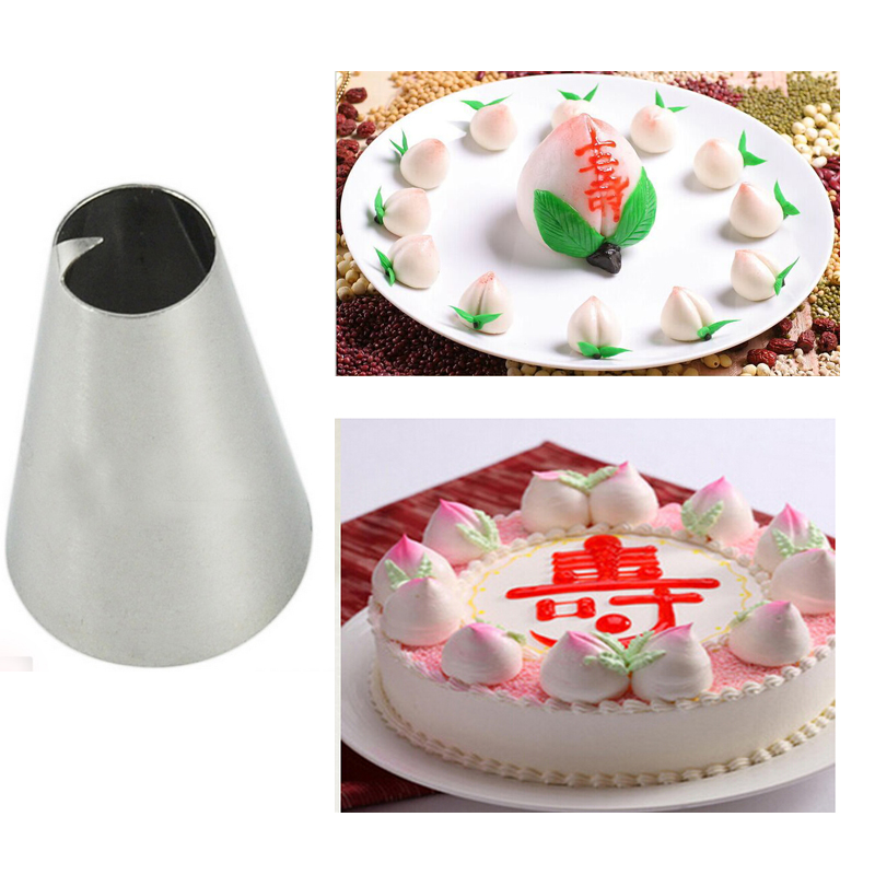 222 Peach Icing Piping Nozzles Cake Decorating Pastry Tips sugar craft Baking  tools Bakeware KH087 62a57d2c2b2a