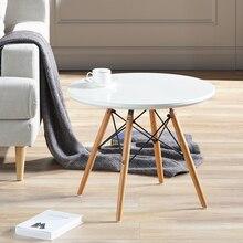 Wohnzimmer Möbel Minimalistischen Modernen Holz Freizeit Tisch Modernen  Kinder Lernen Esstisch Moderne Runde Couchtisch(China