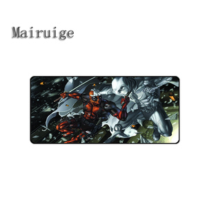 Promo Mairuige High Quality Hot Selling Movie Mousepad Deadpoll Best Rubber Anti Slip Gaming Mouse Pad Durable Desktop Mousepad Diy — nvrelitisrs