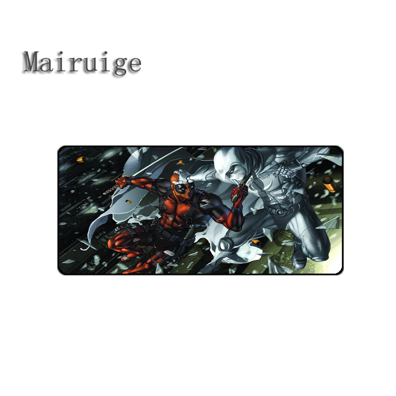 Mairuige High Quality Hot Selling movie Mousepad deadpoll Best Rubber Anti Slip Gaming Mouse Pad Durable Desktop Mousepad Diy ...