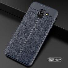 YUETUO Роскошные ТПУ Мягкий телефон назад capinha, etui, coque, чехол для Samsung Galaxy J6 2018 j 6 силиконовый интимные аксессуары