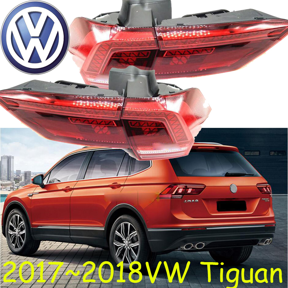 2017~2018,Tiguan taillight;Free ship!LED,Tiguan rear light,Touareg,sharan,polo,jetta,Transporter,passat,Tiguan fog light;Tiguan tiguan taillight 2017 2018year led free ship ouareg sharan golf7 routan saveiro polo passat magotan jetta vento tiguan rear lamp