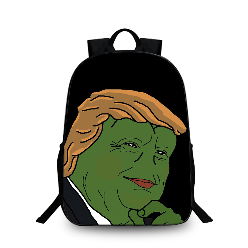Trumpe science fiction series cool cute kids backpack, children's school laptops backpack, 3D printing teen school bag image