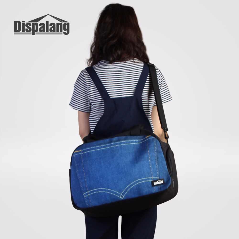 Dispalang bolsos de equipaje a rayas bolso de hombro individual bolsa de viaje plegable bolsa de lona de viaje bolsa de lona para equipaje