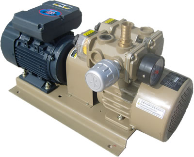цена на Oil-free vacuum pump rotary vane pump / air pump / printer air pump WZB25-P-V-03 3-phase power AC380V 50HZ