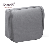 Aosbos Portable Cosmetic Bag Multifunctional Waterproof Makeup Bags Women Hanging Travel Organizer Men Toiletry Bag Necessaries