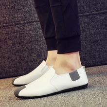 Spring and summer new pea mens shoes a pedal lazy casual youth trend driving