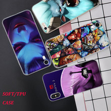 Silicone Phone Case Dota 2 Role Fashion Printing for iPhone XS XR Max X 8 7 6 6S Plus 5 5S SE Phone Case Matte Cover стоимость