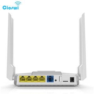 Image 4 - Фрезерный двухдиапазонный Wi Fi роутер с разъемом для sim карты, 2,4 Мбит/с, openWRT, 512 МБ, 4*5 дБи, внешняя антенна, гигабитный роутер soho