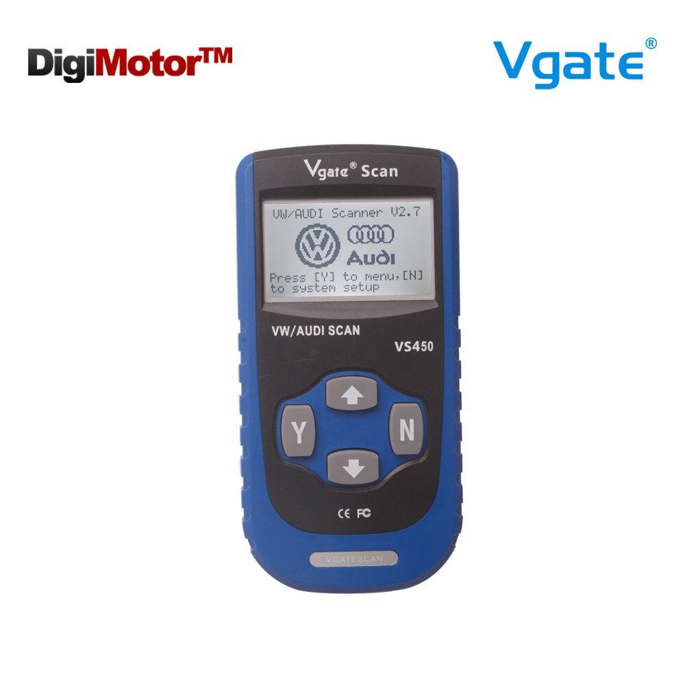 Цена за Новый Vgate сканирования VS450 VW VAG сканер OBD2 инструмент диагностики сканер для автомобиля сканеры автомобильной диагностики