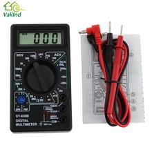 Ac/dc ом амперметр мультиметр жк-цифровой вольтметр метр тестер цифровой в