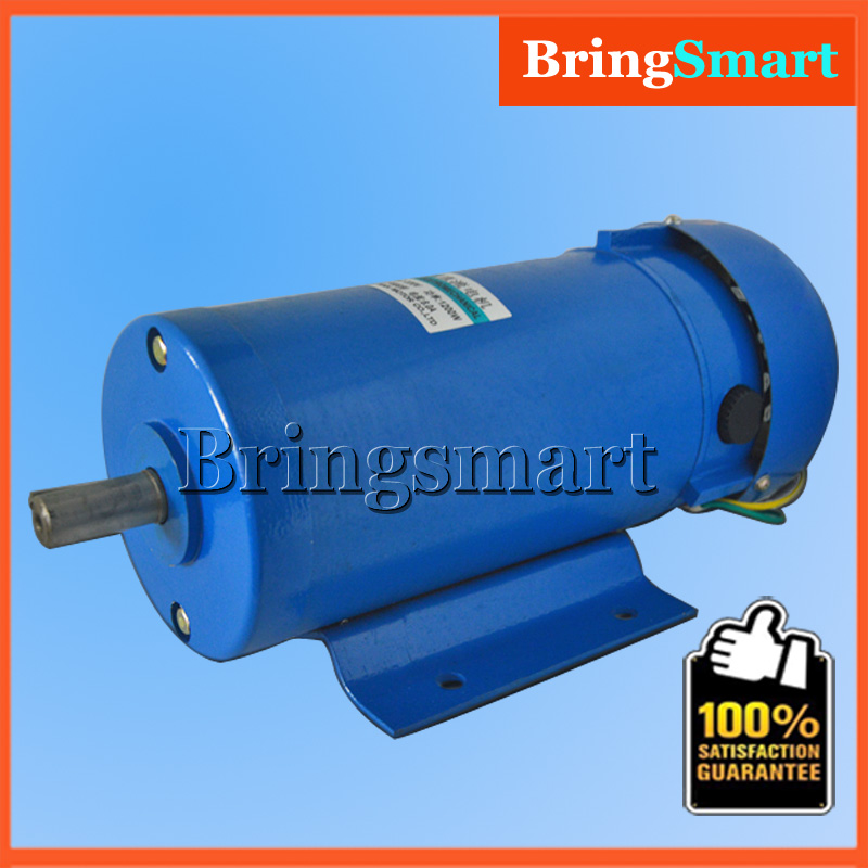 1200W High-power DC Motor 220V Reversible High Speed Motor 1800rpm High Torque 5.5N.m Controllable Speed Motor