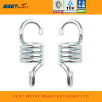 2X 700LB Weight Capacity Sturdy Steel Extension Spring Fits Hammock Chair Hanging porch suspension hooks garden swing Punch Bag