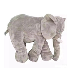 40CM pillow Large Plush Elephant Toy Kids Sleeping Back Cushion Elephant Doll Baby Doll Birthday Gift Holiday Gift недорго, оригинальная цена