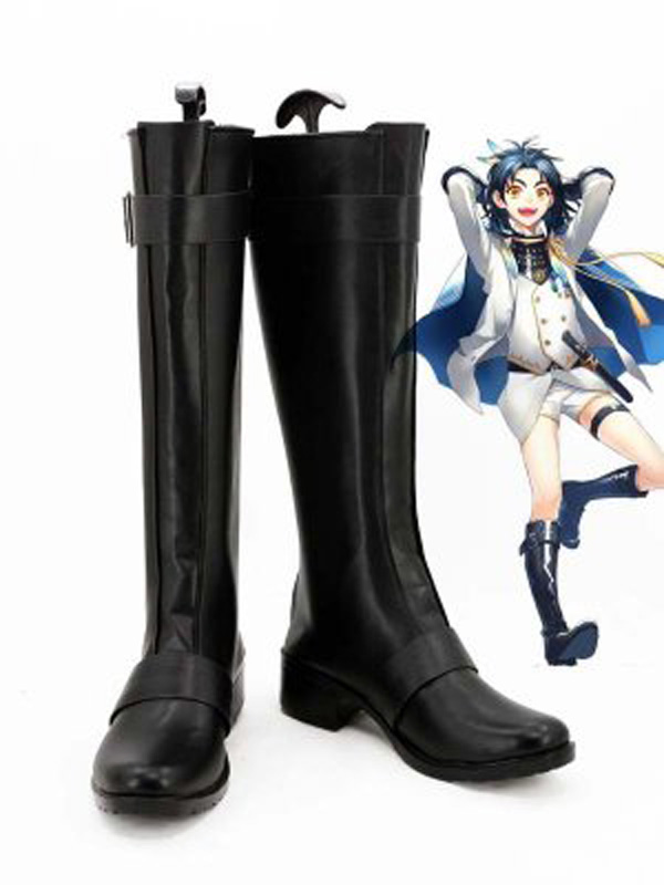 Touken Ranbu Online Cosplay Daikokane Sadamune Game Cosplay Boots Men Cosplay Costume Party Shoes Custom Made Boots
