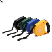 Small Medium Pet Dog Automatic Retractable Dog Leash Lead Collar Harness 5Mbig Dog Leads 3M Dog