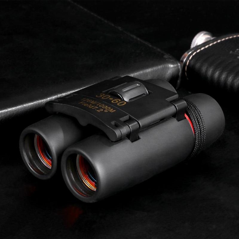 Promote╘Zoom Telescope Binoculars Watching Folding Outdoor Bird Low-Light Travelling Hunting