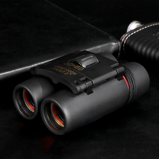 Zoom Telescope 30×60 Folding Binoculars with Night Vision 1000m
