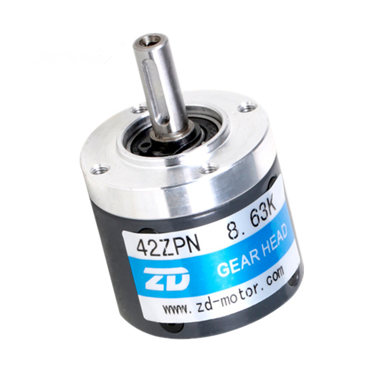 Transmission planetary reducer ZPN42 style 42mm diameter flange size dc gearbox need remake 35 days supply 42mm planetary gearbox planetary gear reducer planetary gearbox planetary transmission