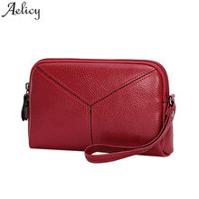 Aelicy Gadis Casing @ Fashion Vintage Kulit Mini Clutch Tas Wanita 2019 Bolsa Feminina DROP Kapal Hot Jual(China)