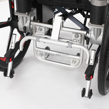 2019 Free shipping  High-quality electric wheelchair trailer