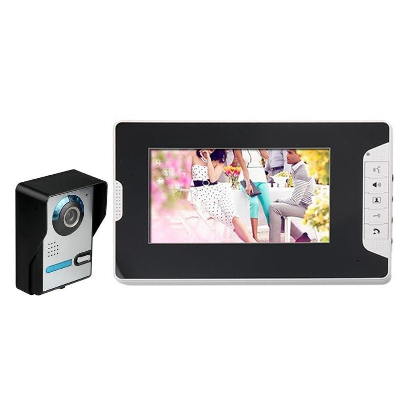 3.5/7 inch Digital Door Camera Peephole Night Vision Video Doorbell Door Phone Intercom Kit Viewer Home Security Door Camera стоимость
