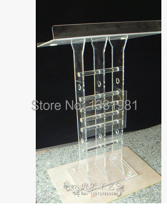 Hot Selling Exquisite Acrylic Lectern Podiums