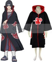 Naruto Akatsuki Coat Cosplay Costume E001