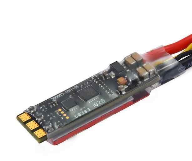 Flycolor رابتور ضئيلة 40A 2-4S BLHeli-S ESC 3 في 1 سائق IC دعم Dshot600 35*10*7 مللي متر البسيطة حجم لنماذج RC