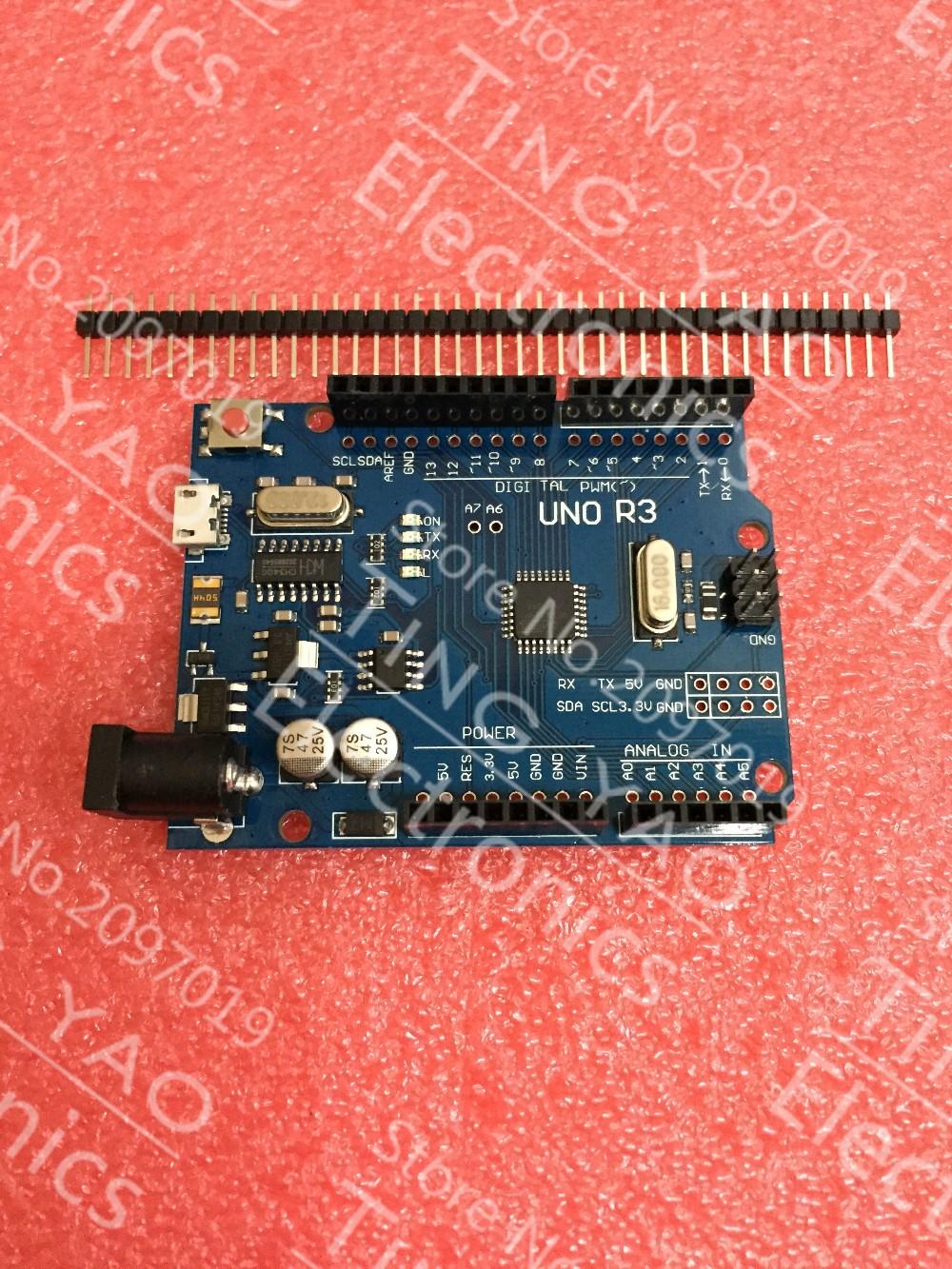 Arduino UNO con puerto micro-USB