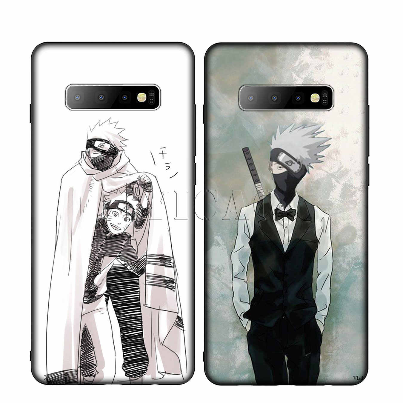 IYICAO naruto kakashi Caso de Telefone de Silicone Macio para Samsung Galaxy S10 S9 S8 Plus S6 S7 Borda S10e E Tampa