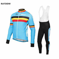 Winter Cycling Clothing 2013 Blue Saxo Bank Winter Thermal Cycling Jersey Cycling Bib Pants Sets Cycling