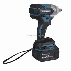 Image 4 - Electric Rechargeable Brushless Impact Wrench Cordless with one 18V 4.0Ah Lithium Battery